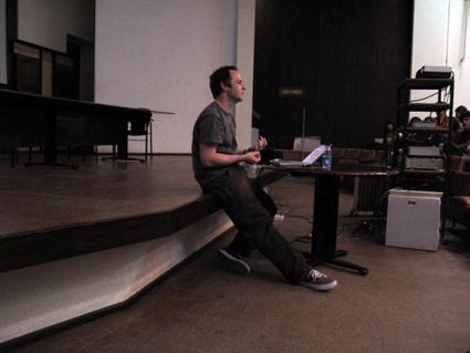 Craig Atkinson | Master Class, FBAUP - Porto
