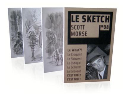Le Sketch | Scott Morse