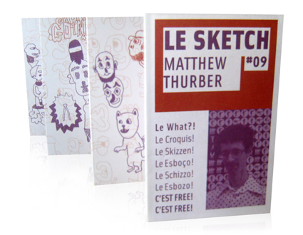 Le Sketch #09 | Matthew Thurber