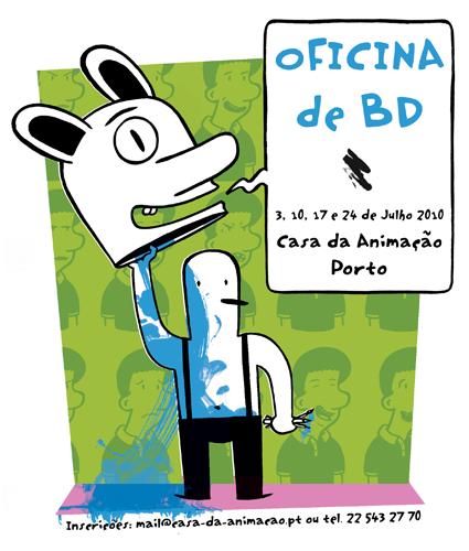 Oficina de Bd - Casa da Animação, Porto - Julho 2010