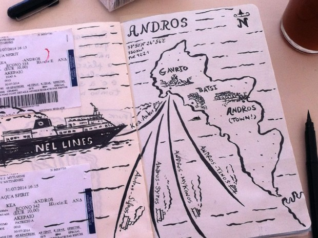 paulo-patricio-greece-sketchbook-andros-map-andros-town-grécia-moleskine-sketches